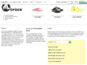 crocs.thegoldenboot.co.uk