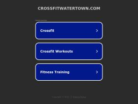 crossfitwatertown.com