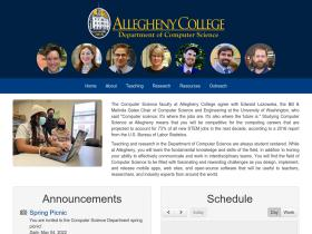 cs.allegheny.edu