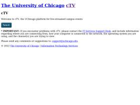ctvserver.uchicago.edu