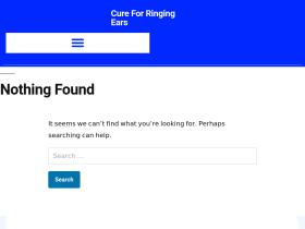 cureforringingears.com