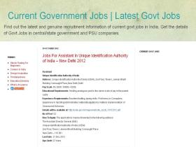 currentgovtjobs.com