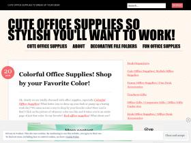 cuteofficesupplies.wordpress.com