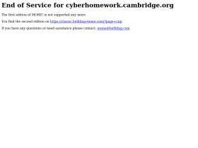 cyberhomework.cambridge.org