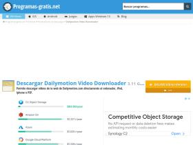 dailymotion-video-downloader.programas-gratis.net