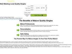 dating.maturequalitysingles.com