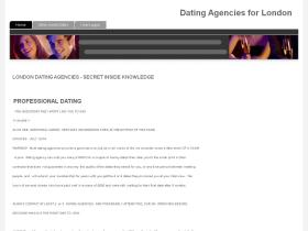 Dating agency south london