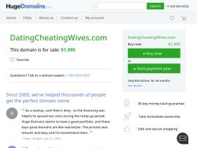 datingcheatingwives.com