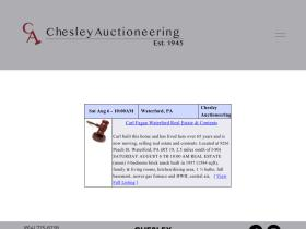 dchesleyauctioneering.com
