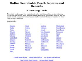 deathindexes.com