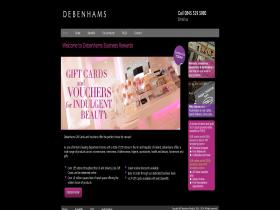 debenhamsbusinessrewards.co.uk