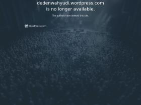 dedenwahyudi.wordpress.com