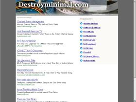 destroyminimal.com