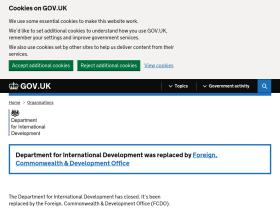 dfid.gov.uk