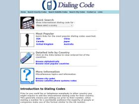 dialingcode.org