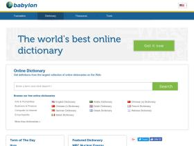 dictionary.babylon.com