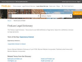 dictionary.findlaw.com