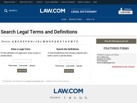 dictionary.law.com
