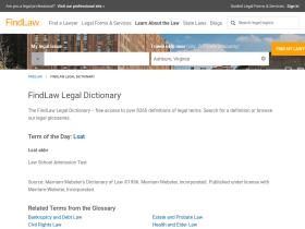 dictionary.lp.findlaw.com