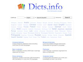 dicts.info