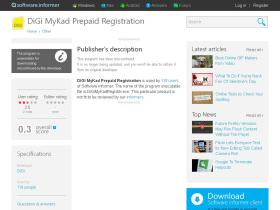 digi-mykad-prepaid-registration.software.informer.com