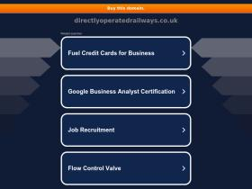 directlyoperatedrailways.co.uk