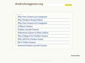 donkeykonggames.org