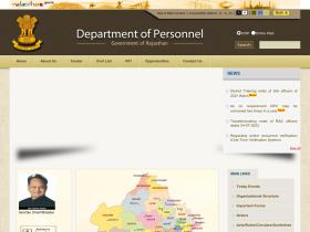 dop.rajasthan.gov.in