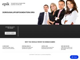 doroughlupusfoundation.org