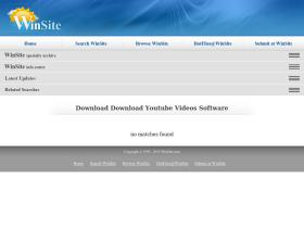 download-youtube-videos.winsite.com