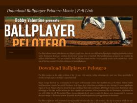 downloadballplayerpeloteromovie.weebly.com