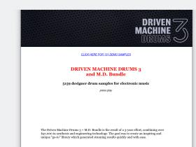 drivenmachinedrums.com