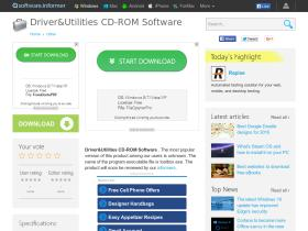 driver-utilities-cd-rom-software.software.informer.com