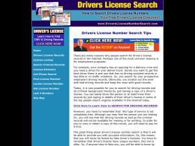 driverslicensenumbersearch.com