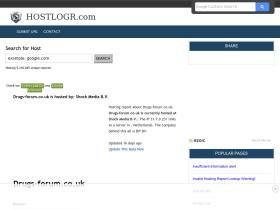 drugs-forum.co.uk.hostlogr.com