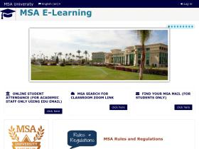 e-learning.msa.edu.eg
