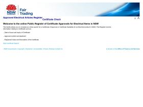 eapr.fairtrading.nsw.gov.au
