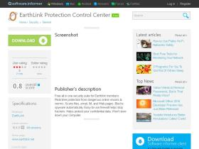 earthlink-protection-control-center.software.informer.com