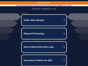 ecomm-debate.co.za