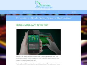 ecosystems.ws