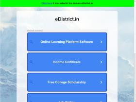 edistrict.in