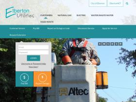 elbertonutilities.net