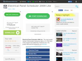 electrical-panel-scheduler-2009-lite.software.informer.com