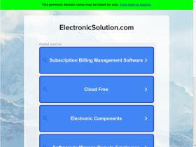 electronicsolution.com