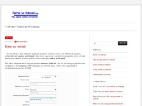 entrarnohotmail.org