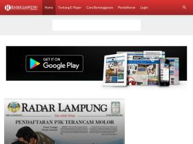 epaper.radarlampung.co.id