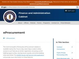 eprocurement.ky.gov