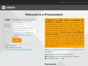 eprocurement.liebert.com