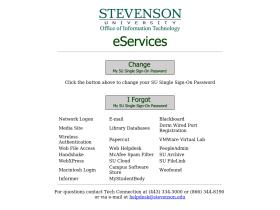 eservices.stevenson.edu