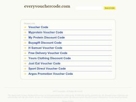 everyvouchercode.com